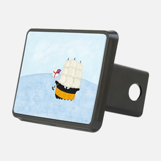 2-Naval Ship at Sea 9x12 Hitch Cover