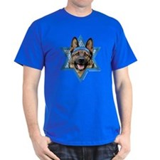 Hanukkah Star of David - Shepherd T-Shirt