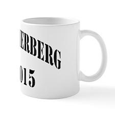 hammerberg black letters Mug