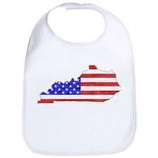 Kentucky Flag Bib