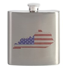 Kentucky Flag Flask