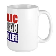 Catholic Republican (Travel Mug 1) Mug