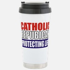Catholic Republican (5x3) Stainless Steel Travel M