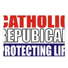 Catholic Republican (5x3) Postcards (Package of 8)