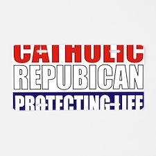 Catholic Republican (Tee2 F Aluminum License Plate
