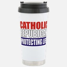 Catholic Republican (Tee2 Front Stainless Steel Tr