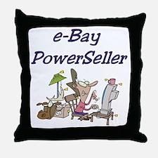 Self-Employed Throw Pillow