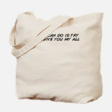 Cute All you can eat Tote Bag