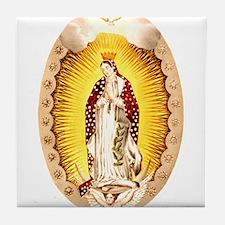 Vintage Guadalupe Tile Coaster