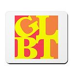 GLBT Hot Pop Mousepad