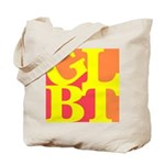 GLBT Hot Pop Tote Bag