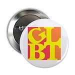 """GLBT Hot Pop 2.25"""" Button (10 pack)"""
