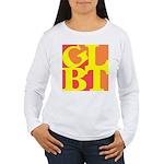 GLBT Hot Pop Women's Long Sleeve T-Shirt