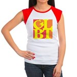 GLBT Hot Pop Women's Cap Sleeve T-Shirt