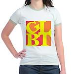 GLBT Hot Pop Jr. Ringer T-Shirt