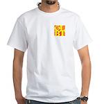 GLBT Hot Pocket Pop White T-Shirt