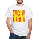 GLBT Hot Pop White T-Shirt