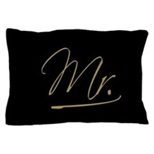 Mr. & Mrs. Pillow Case