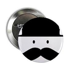 """Moustache 2.25"""" Button"""