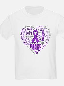 Lupus Heart Words T-Shirt