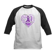 Lupus Heart Words Tee