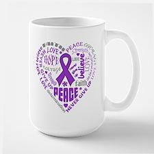 Lupus Heart Words Mug
