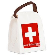 team switzerland Canvas Lunch Bag