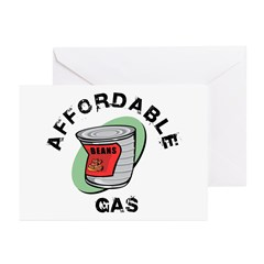 Affordable Gas Greeting Cards (Pk of 10)
