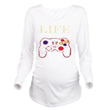 transcolor Long Sleeve Maternity T-Shirt