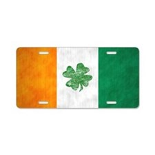 irish5 Aluminum License Plate
