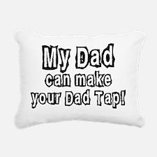 DadTap_NEW1 Rectangular Canvas Pillow