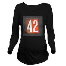 42 Long Sleeve Maternity T-Shirt
