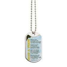GREETING CARD_Have a Vision Dog Tags