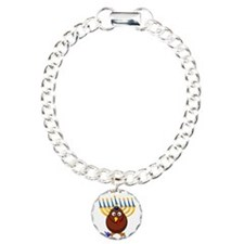Thanksgivukkah Turkey Bracelet