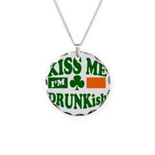 Kiss Me Im Drunkish Necklace