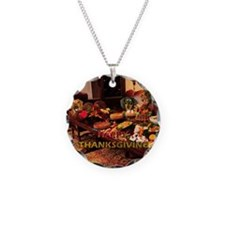 Thanksgiving Dinner Doxies 1 Necklace