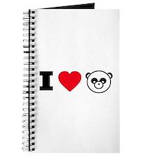 I Heart Pandas Journal