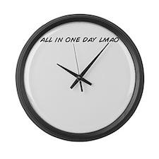Cool Lmao Large Wall Clock