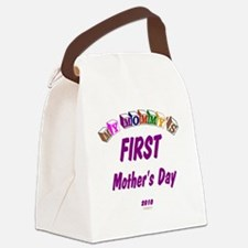 mommys1st2010 Canvas Lunch Bag