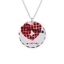 out-of-order-heart-black-wit Necklace