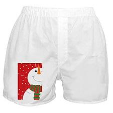 Jolly Snowman  Boxer Shorts