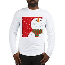 Jolly Snowman  Long Sleeve T-Shirt