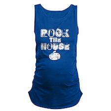 RockTheHouseWhite Maternity Tank Top