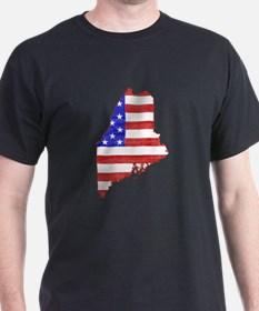 Maine Flag T-Shirt