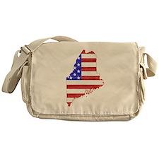 Maine Flag Messenger Bag