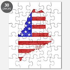 Maine Flag Puzzle