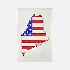 Maine Flag Rectangle Magnet