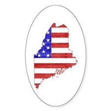 Maine Flag Decal
