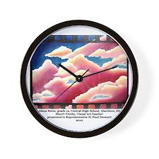 2-2 Alena Mette Wall Clock