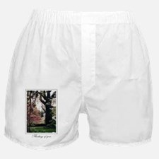 Thinking of You Cards, A Ivy covered  Boxer Shorts